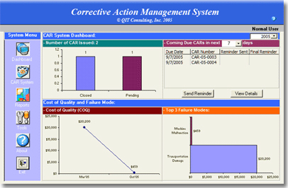 Corrective Action Software Desktop Edition
